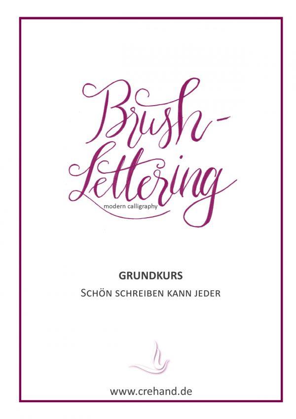 Brush-Lettering Grundkurs