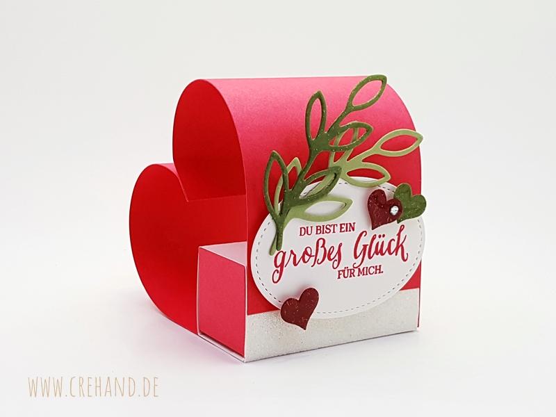 3D Herz zum Valentinstag