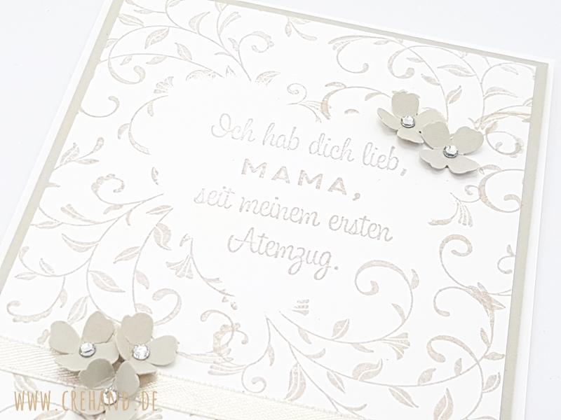 Stampin Up Muttertagskarte